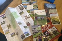 We provide lots of information about local walks and places to visit.