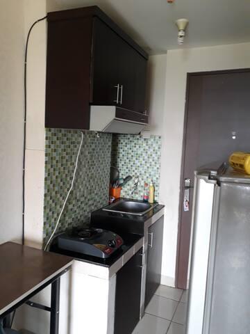Budget apartment, studio in North Jakarta
