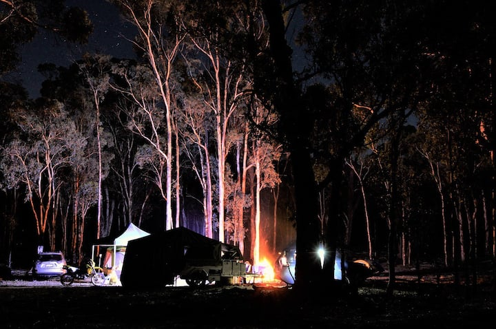 Bigfoot Camper (Go anywhere off-road)