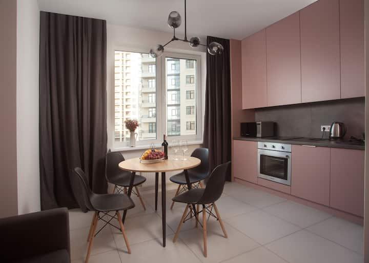 Новые апартаменты в жемчужине Аркадия