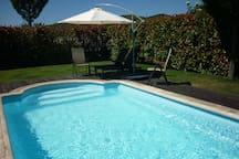 piscina exterior de temporada
