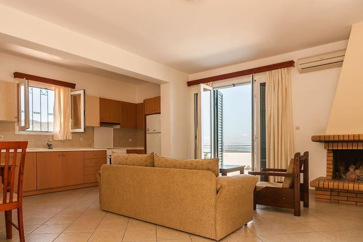 Family Apartment  Epidavros  Panoramic View[80 m²]