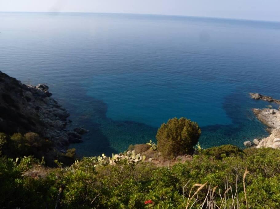 Aussicht zur Cala Delfino / view to Cala Delfino / veduta di Cala Delfino