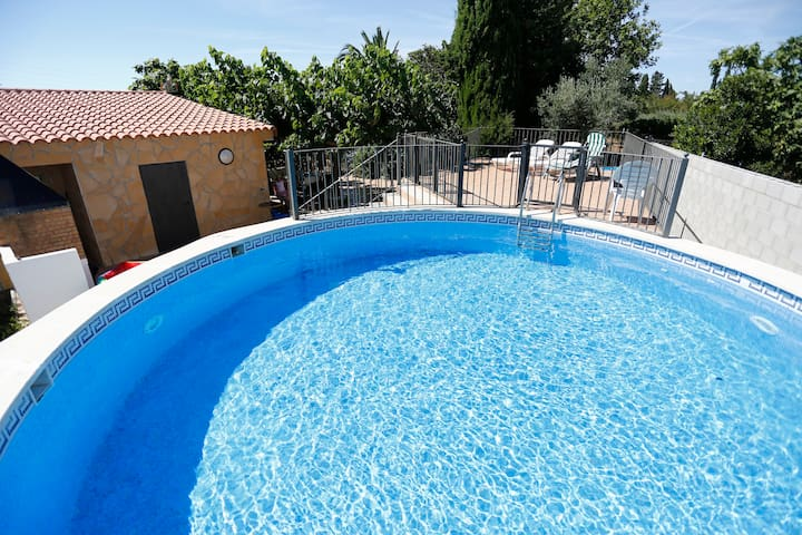 Country house near the beach. - Cambrils - Huis