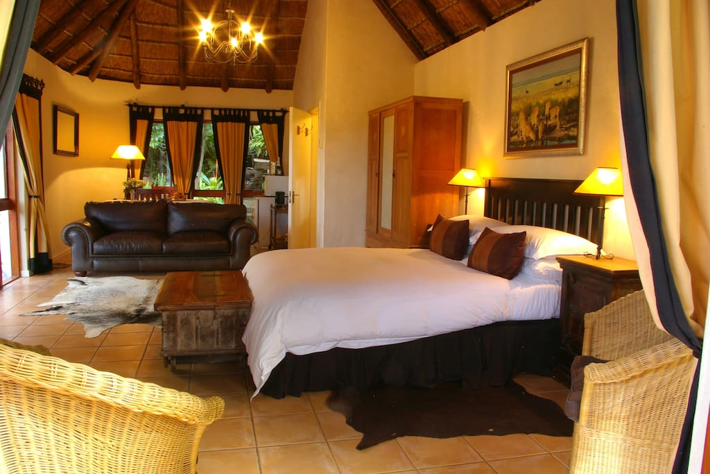 The Safari Room - a touch of Africa