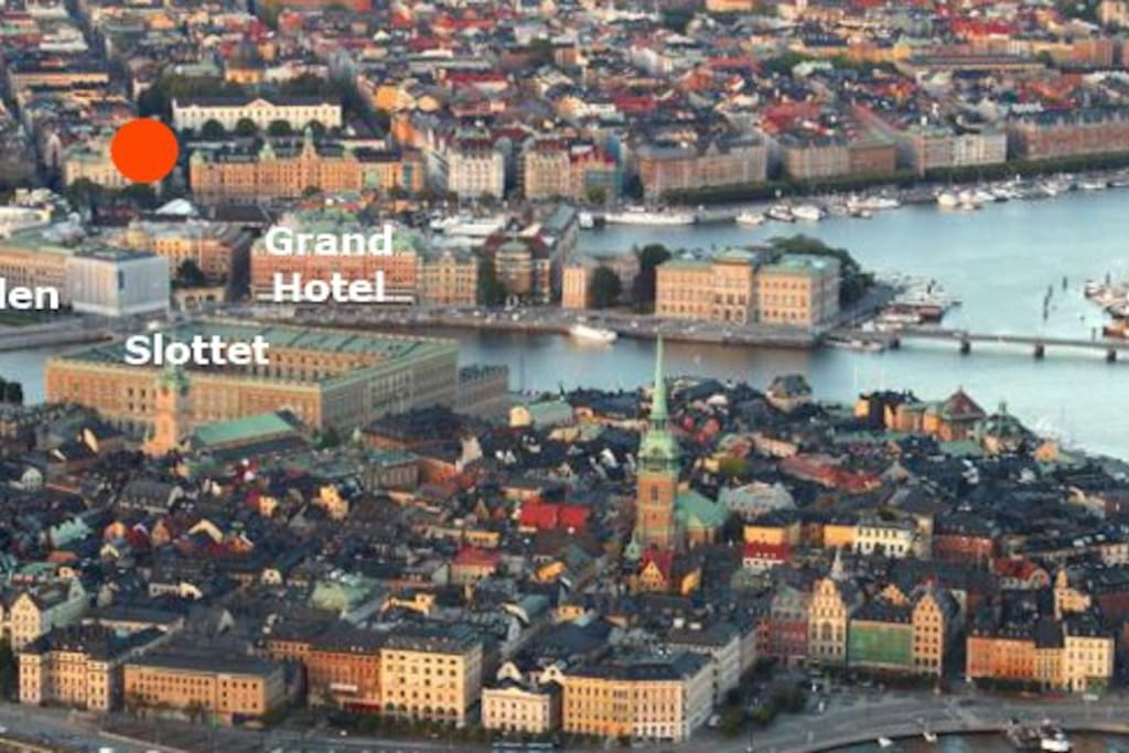 Best Location in the Hearth of Stockholm