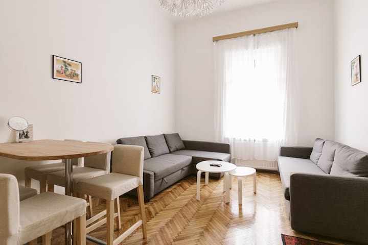 Coazy renovated apartement in central Budapest
