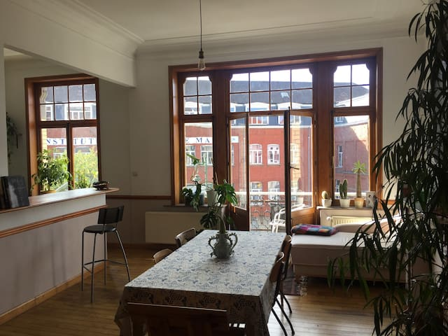 Apartment with Large Terrace and Fries Nearby!