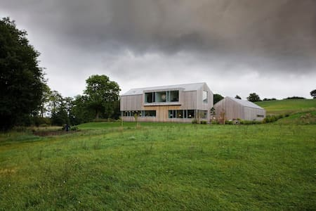 Modern wooden house in the countryside near Aarhus - Odder - Hus