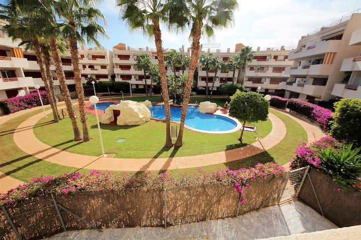 Apartment in Playa Flamenca south ofTorrevieja