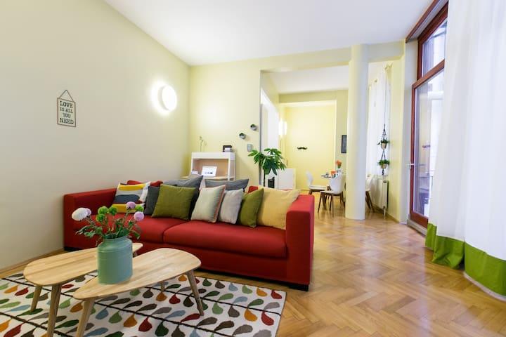 SUPERHOST 2BR City center design apartment  TOP 5 - Vienna - Pis