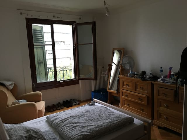 Large room in shared flat, ideal location Geneva