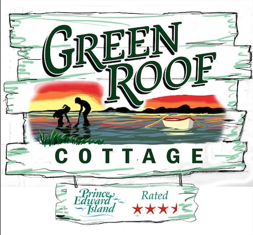 Green Roof Cottage . Fun with Tranquillity !