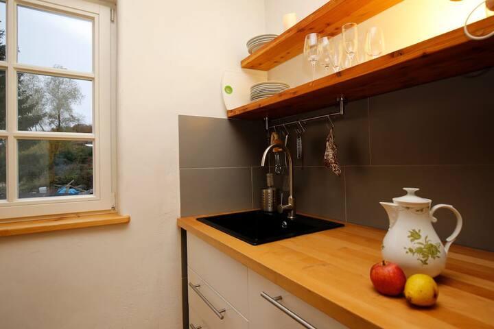Küche im Herbst