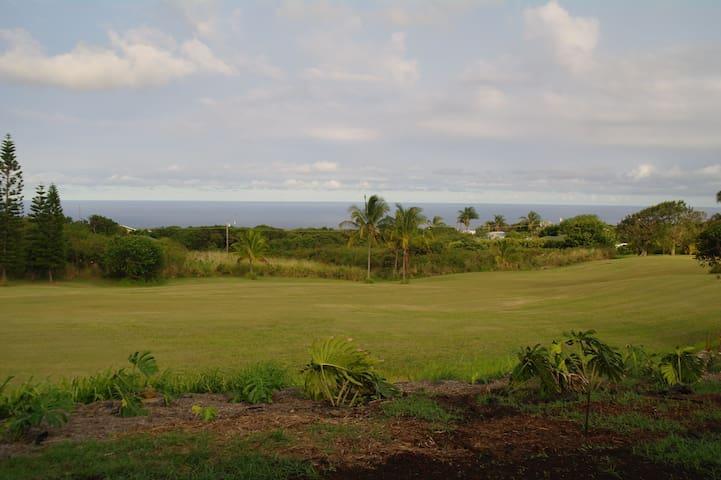 Ke'ena Nanea at Hale Kaulua - Ocean View Studio - Naalehu - Huis