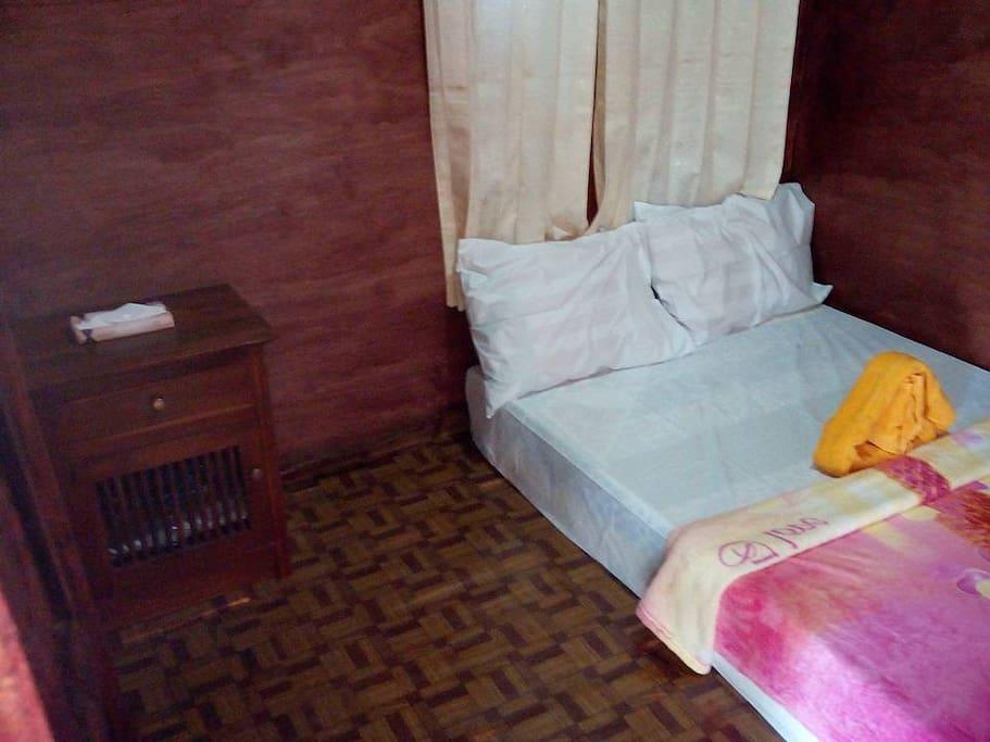 kamar yang bersih dan sejuk...