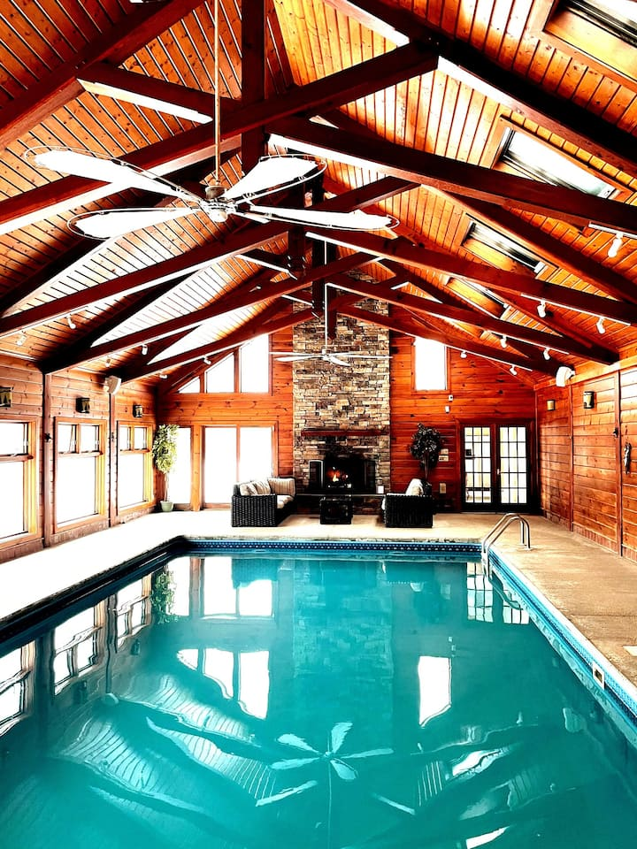 Your Private heated indoor pool in Windham