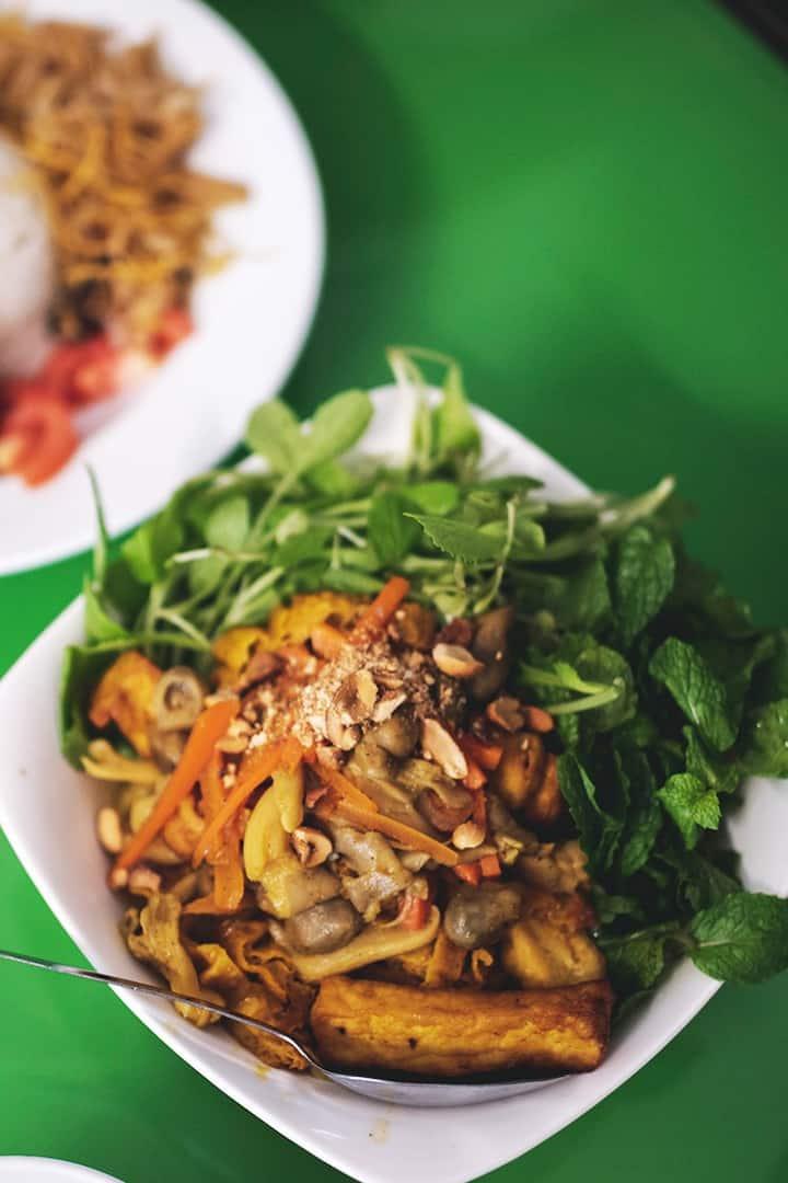 Best Vegan Noodle in Vietnam