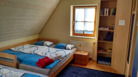 Zimmer mit Bad 1 bis 6,5 Pers./ Hilpoltstein
