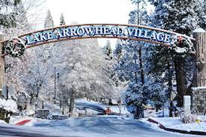 Entrance to Arrowhead Village