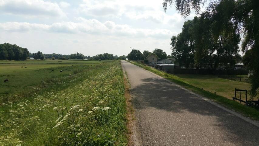 Prachtige wandel en fietsroutes in de directe omgeving