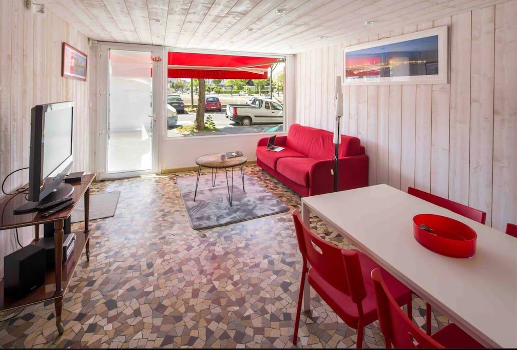 duplex centre ville quartier st francois appartements louer le havre normandie france. Black Bedroom Furniture Sets. Home Design Ideas