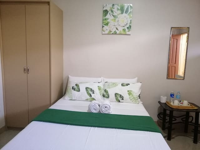 Dela Suertes Suites. Quiet and Safe Environment
