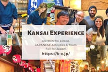 """AUTHENTIC LOCAL JAPANESE Activities & Tours """"Kansai Experience""""  ( If you want to join the tour, please check out their website! → https://k-x.jp/)"""