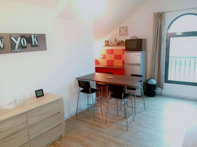 Appartement T2 50 m², Parking Gratuit