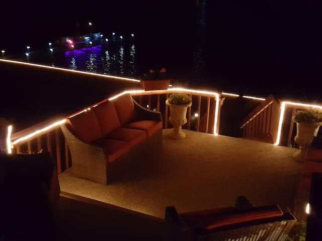 Lake View at Night..