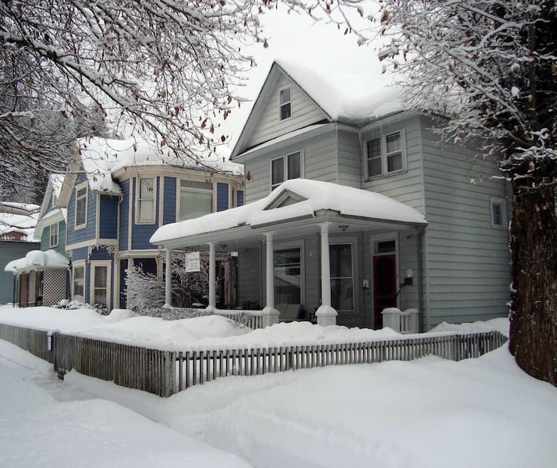 Tabor House Winter of 2016