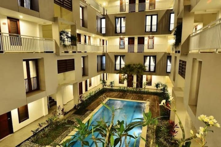 New Promo 50 % off Hotel apartment Legian - Kuta - Loft