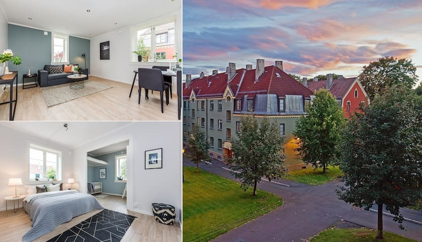 Live in a classic and cozy Oslo apartment! - Oslo - Byt