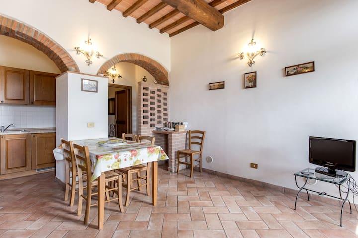 Borgo di Montereggi-1 bedroom apt. - Capraia e limite - Apartamento