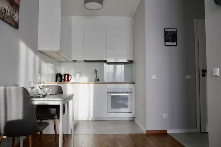 New 2-room flat close to OBC Oliwa