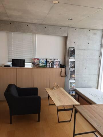 Tadao Ando Designed Studio Office - 港区 - Appartement