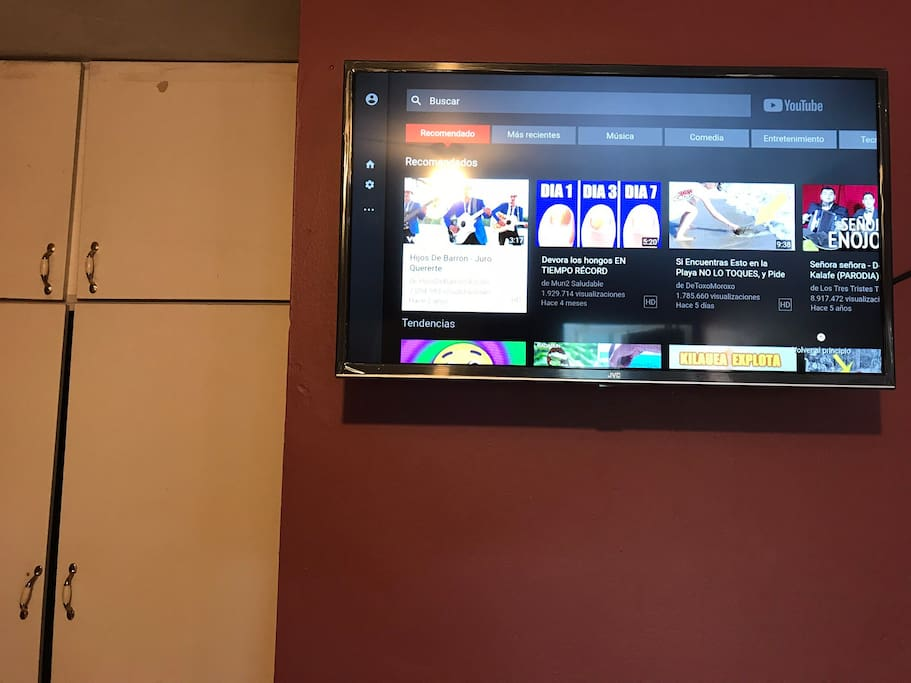 Smart TV con YouTube, Face, buscadores de internet & más...