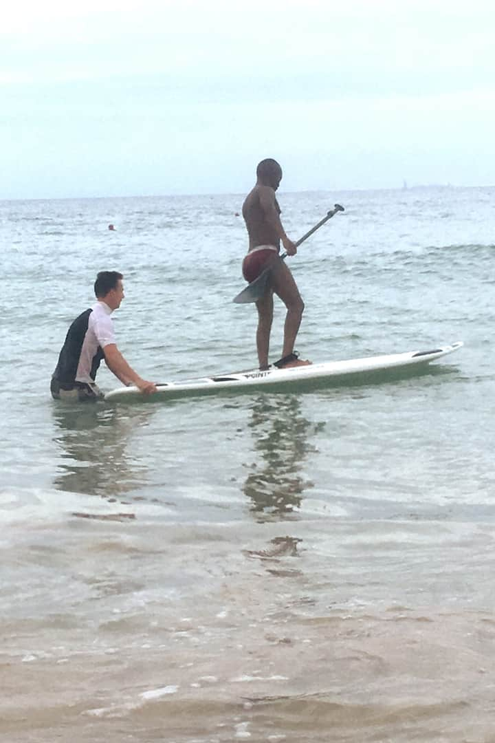 First time on the SUP