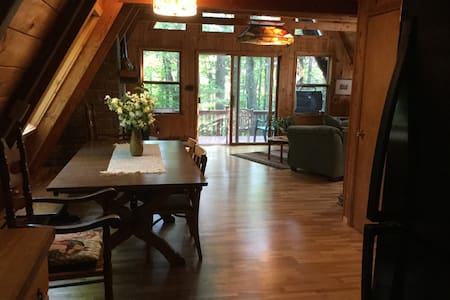 Windsong: Adirondack retreat in the trees - House