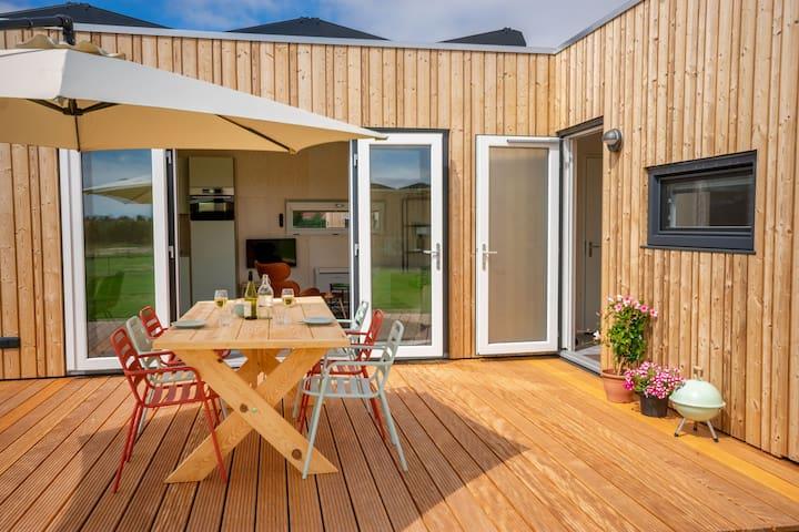 De Lepelaar. Nieuw energie neutraal vakantiehuis.