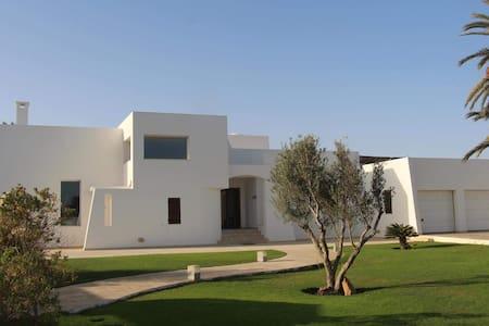 belle villa face à la mer - djerba