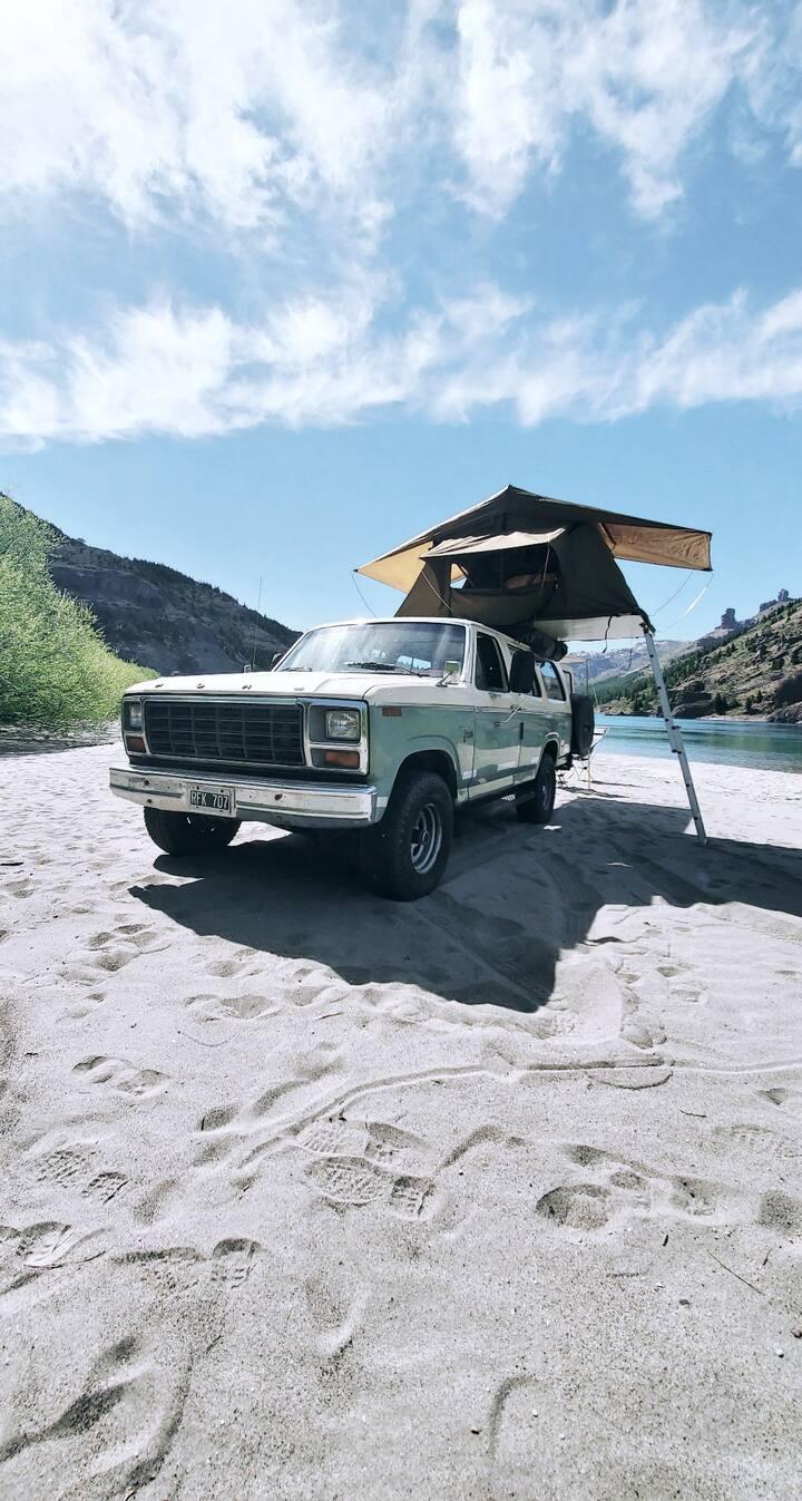 Patagones Campervan - Ford F150 1981 -