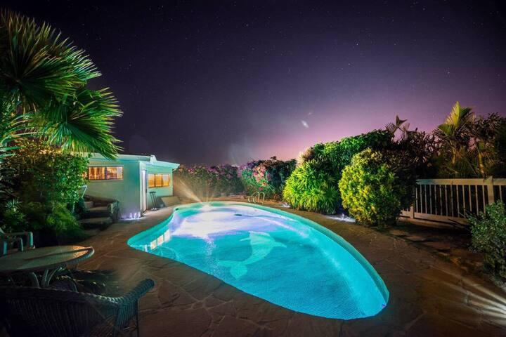 Beautiful pool house in Portlock - Honolulu - Appartement
