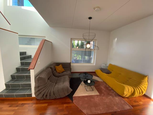 Sauna lounge room