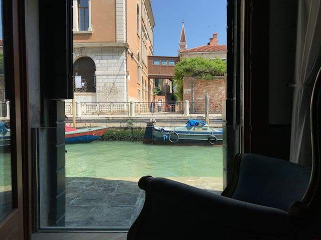 Canal View Apartment - close to St.Mark Square