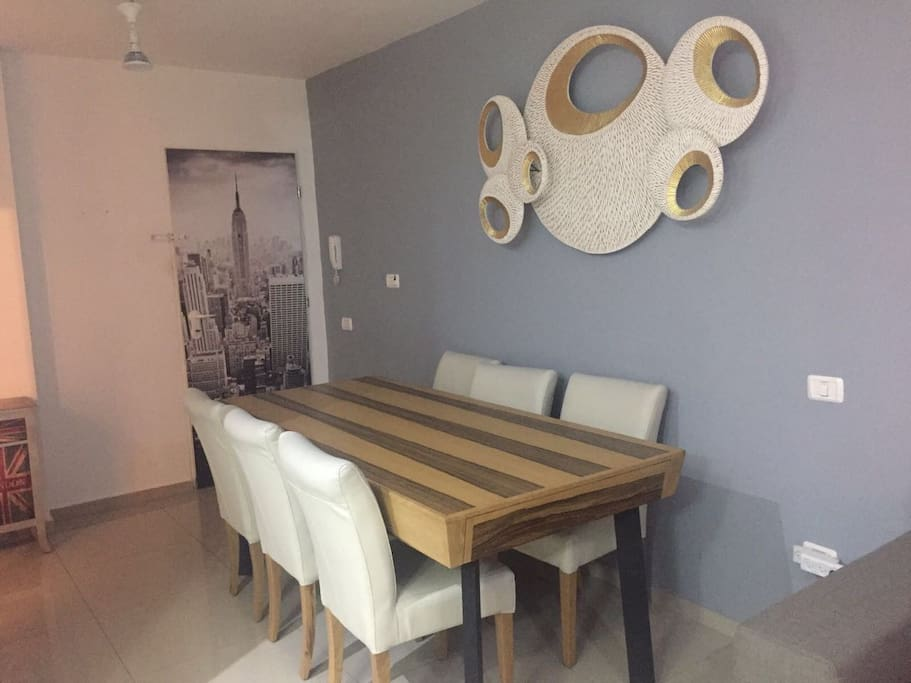 New dinning table ...