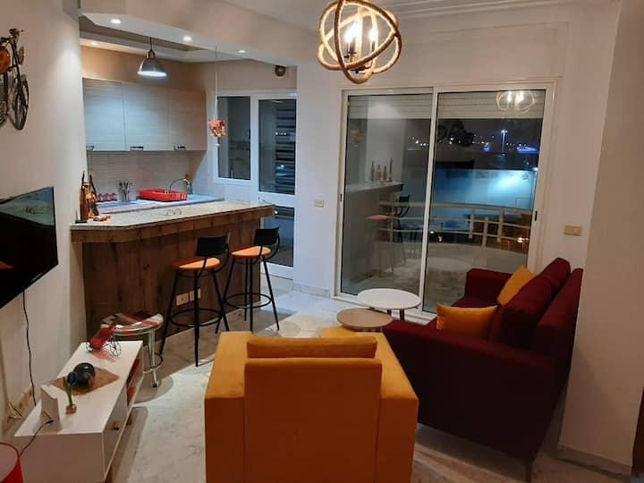 Appartement cosy et bien situé