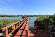 Complex Dock on Intracoastal