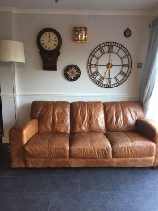 Sofa in the kitchen