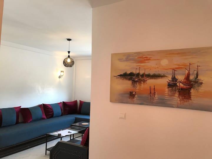 Bel appartement près des plages Bouznika / Dahomey